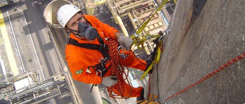 Trabalhos em altura - Alpinismo industrial