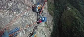 Curso de escalada Big Wall - Rio de Janeiro